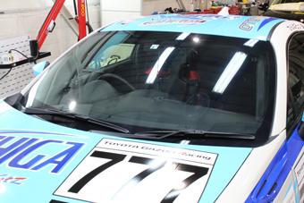 トヨタ 86レーシングカー 施工後