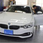 カーフィルム、BMW435iが遮熱(断熱)フィルム施工で入庫していました。