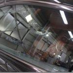 カーフィルム、ベンツ SL63 AMGのフィルム施工が完了しました。