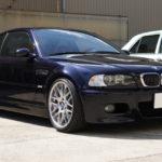 BMW   M3クーペ SOTTハイグロスカーボンを天井面に施工しました!