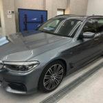 カーフィルム、BMW   5シリーズツーリング リア全面(10%)遮熱フィルム施工で入庫。