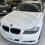 フィルム、BMW   3シリーズツーリング リア全面(5%)UVカットフィルム施工で入庫。