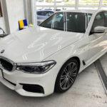 フィルム、BMW   523i リア全面(5%)UVカットフィルム施工で入庫。