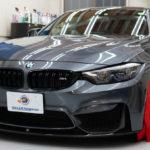 BMW   M4  「XPEL アルティメットプラス」フロントフルセットを施工!