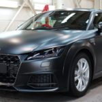 プロテクションフィルム「XPEL ステルス」で、Audi TTをマット化!サテンブラックのような滑らかな質感。