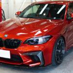 プロテクションフィルム施工、「BMW  M2コンペティション」のフロントをPPFでフルカバー!